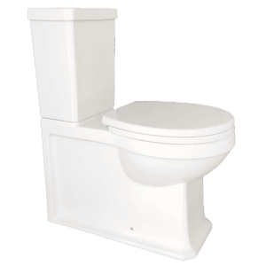 Gareth Ashton traditional Burlington Traditional Rimless Wall Faced Toilet Suite Toilets