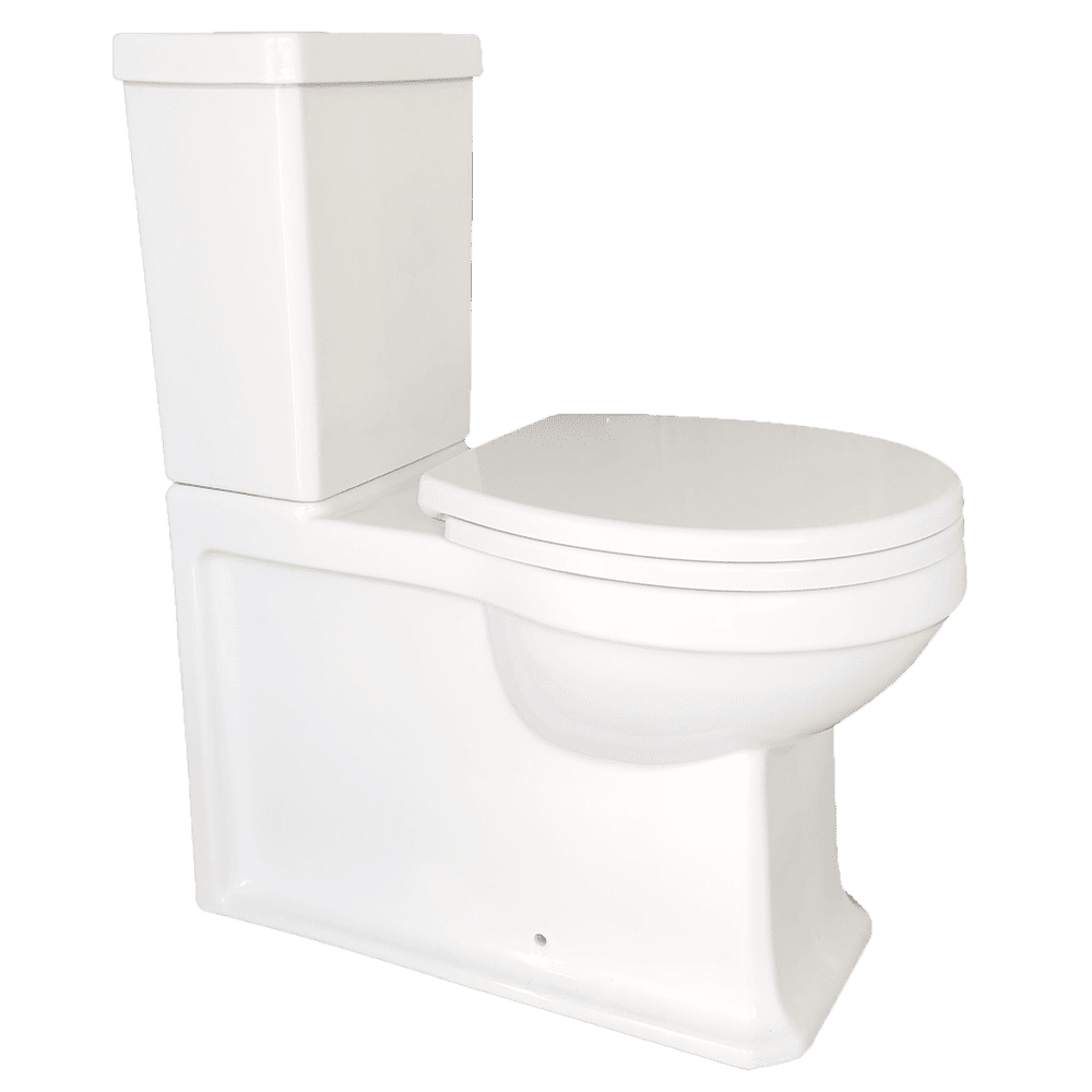 Gareth Ashton traditional Burlington Traditional Rimless Wall Faced Suite Toilets