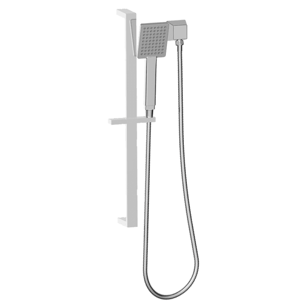 Gareth Ashton showers-on-rail Square Face Hand Shower Showers
