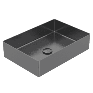 Gareth Ashton abey-304 Rectangle 304 Stainless Steel Basin Black Pearl Basins