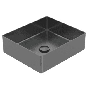 Gareth Ashton abey-304 Square 304 Stainless Steel Basin Black Pearl Basins