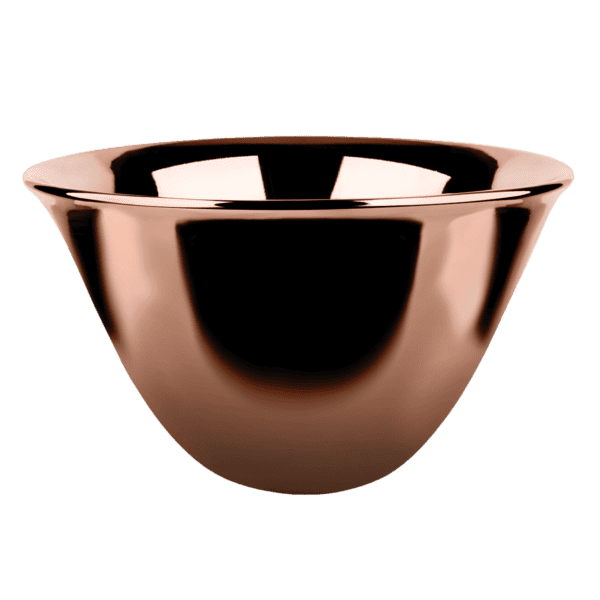 Gessi goccia Goccia Counter Bright Copper Basin 500mm Basins