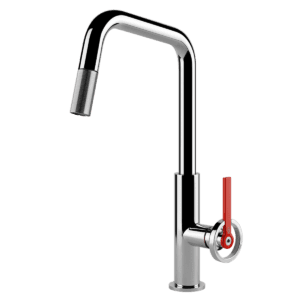 Gessi officine Officine V Pull Out Kitchen Mixer Kitchen Taps & Mixers