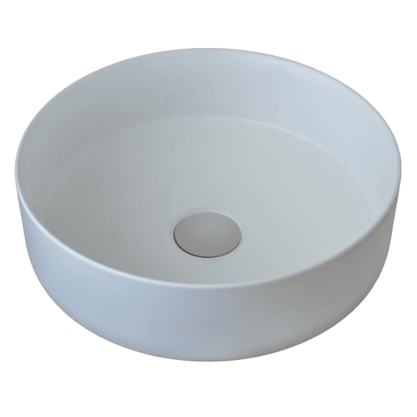 Gareth Ashton poco Poco Round Matt Finish Countertop Basin Basins
