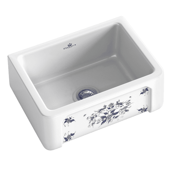 Chambord chambord-henri Chambord HENRI Mousteirs Single Bowl Ceramic Kitchen Sinks