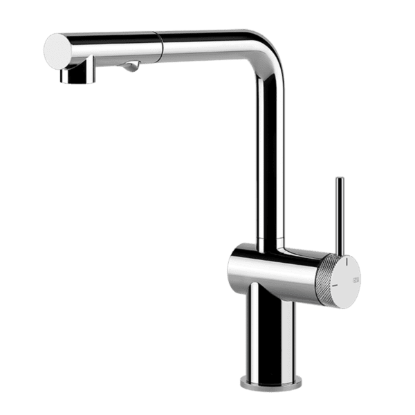 Gessi inedito Inedito Pull Out Dual Function Kitchen Mixer Kitchen Taps & Mixers