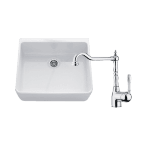 Chambord abey-packages Chambord Clotaire Small Single Bowl Sink & PALAIS Kitchen Mixer in Chrome Kitchen Sinks