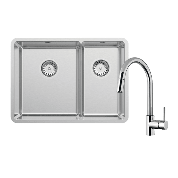 Abey abey-packages Lucia Bowl & Three Quarter With SK5-AV Kitchen Mixer