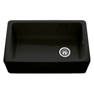 Chambord philippe-ii Chambord Philippe II Single Bowl Ceramic Black Kitchen Sinks